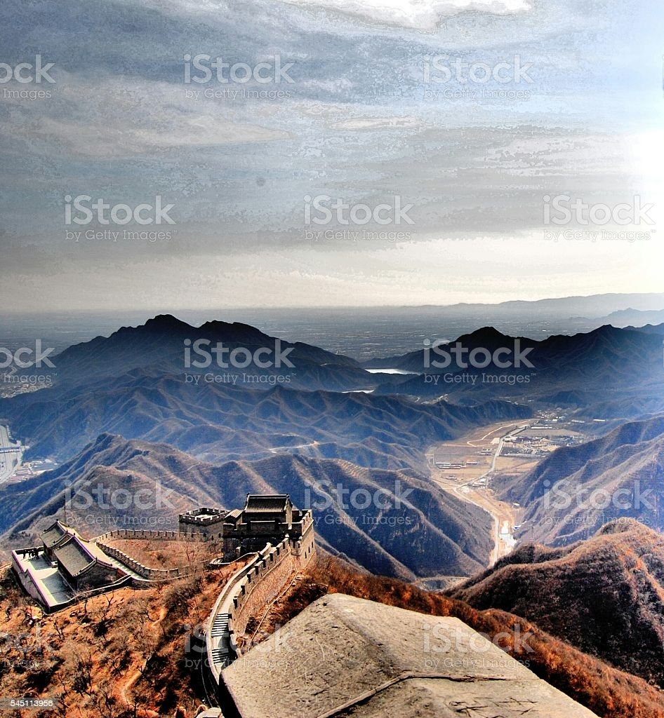 The wall valley foto stock royalty-free