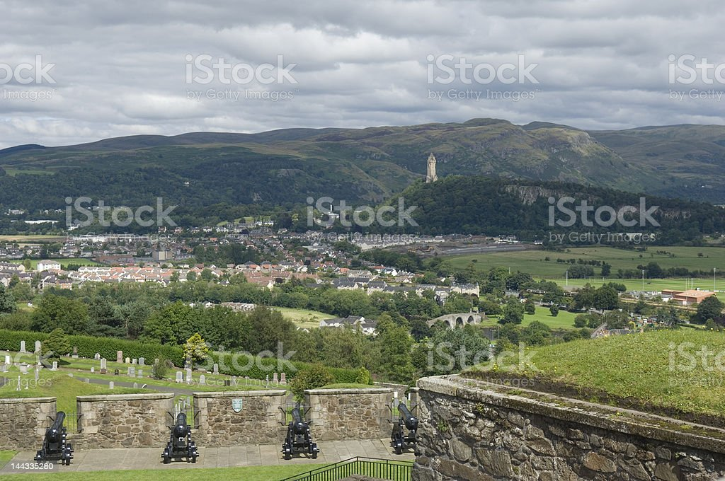 The Wallace Monument stock photo