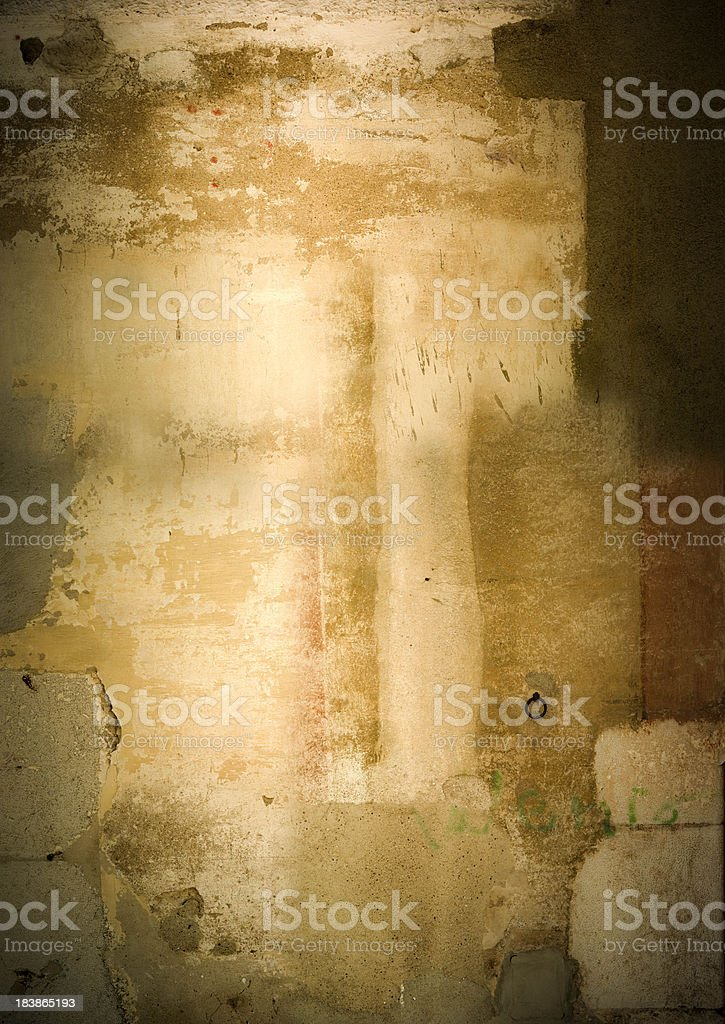 The wall\n royalty-free stock photo