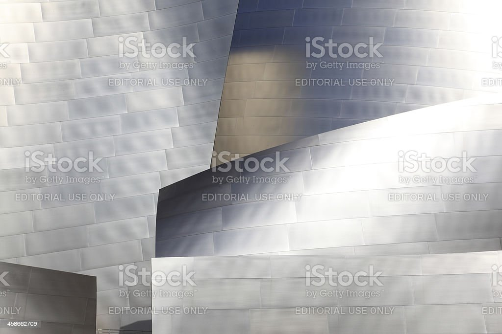 The Walt Disney Concert Hall, Los Angeles, California stock photo