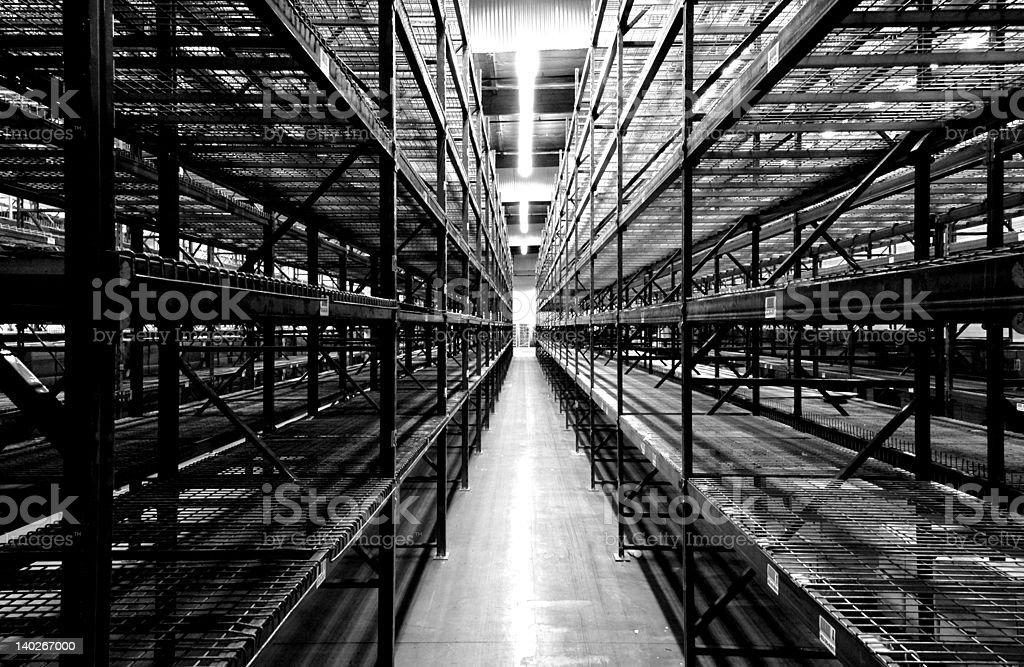 The Warehouse royalty-free stock photo