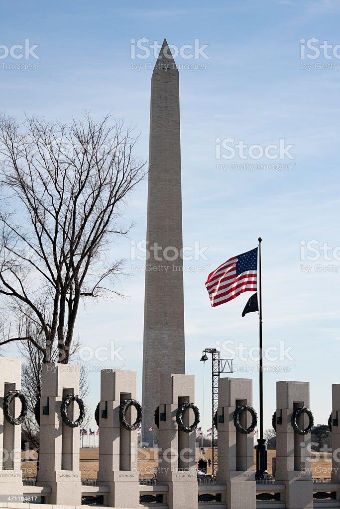 The Washington Monument war memorial royalty-free stock photo