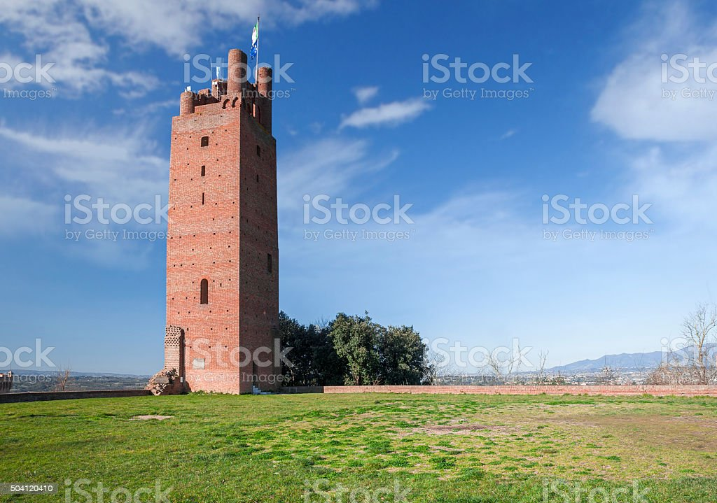 The Watch Tower stock photo