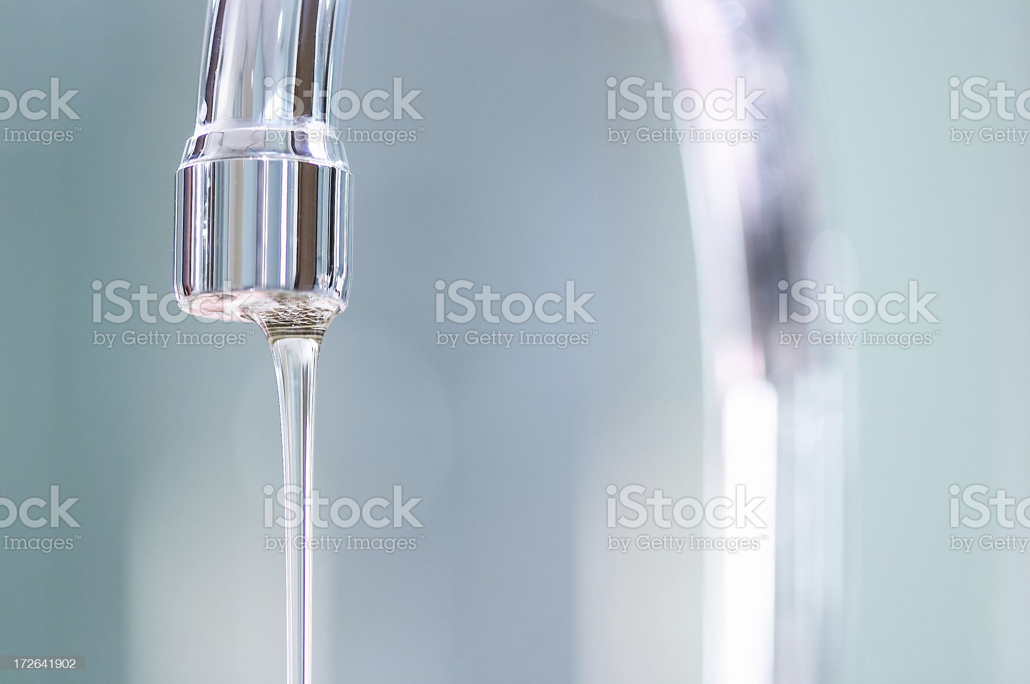 the water flows royalty-free stock photo
