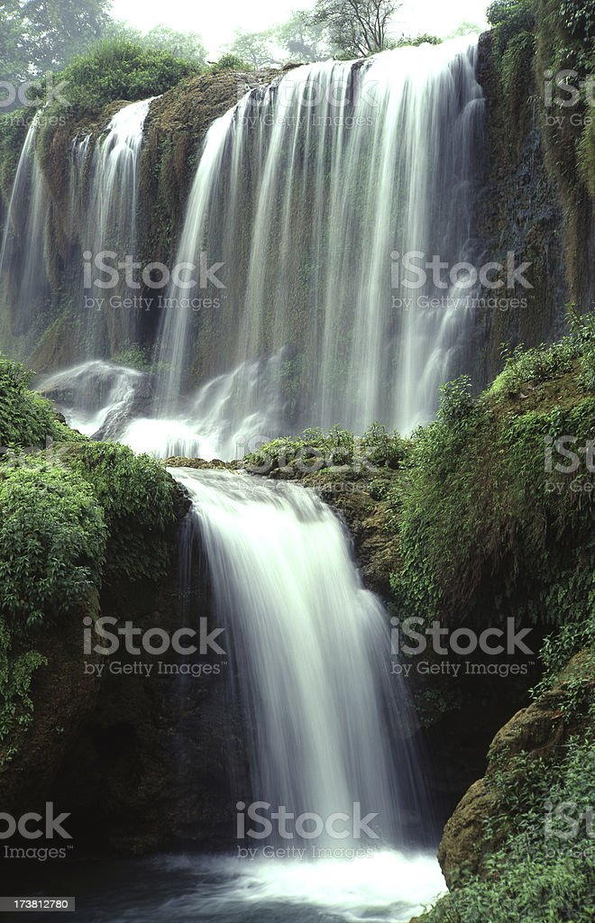The Waterfall of Detian royalty-free stock photo