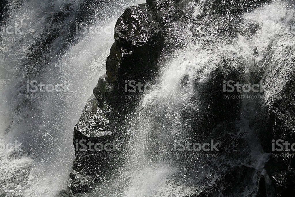 The Waterfall royalty-free stock photo