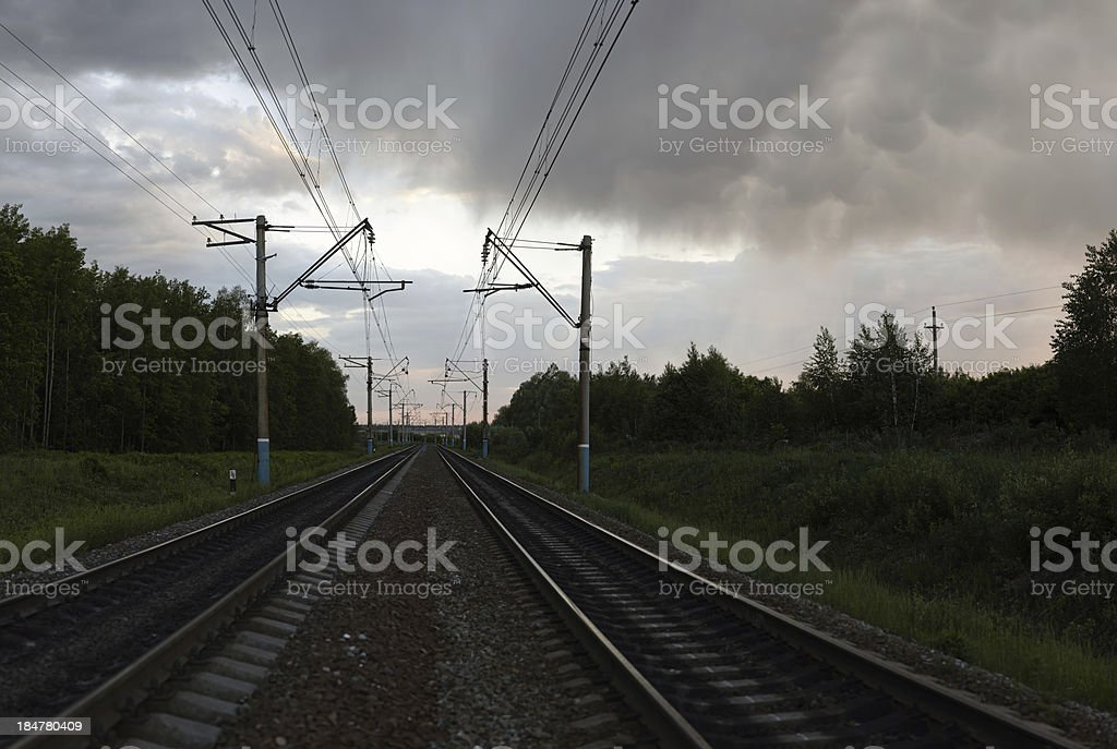 The Way Forward stock photo