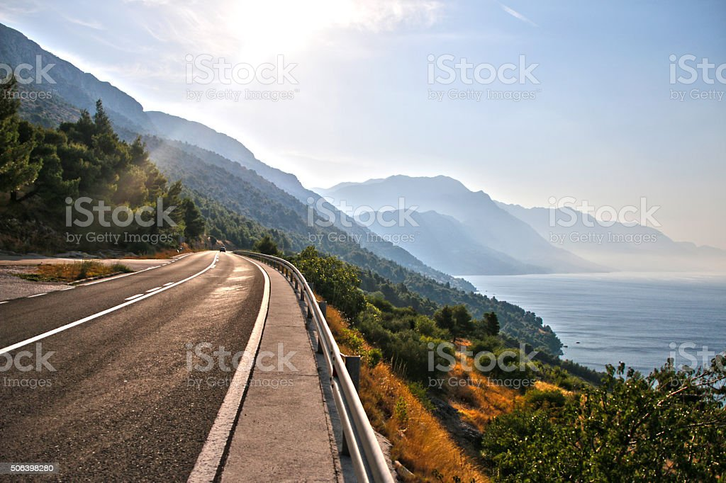 The way forward stock photo