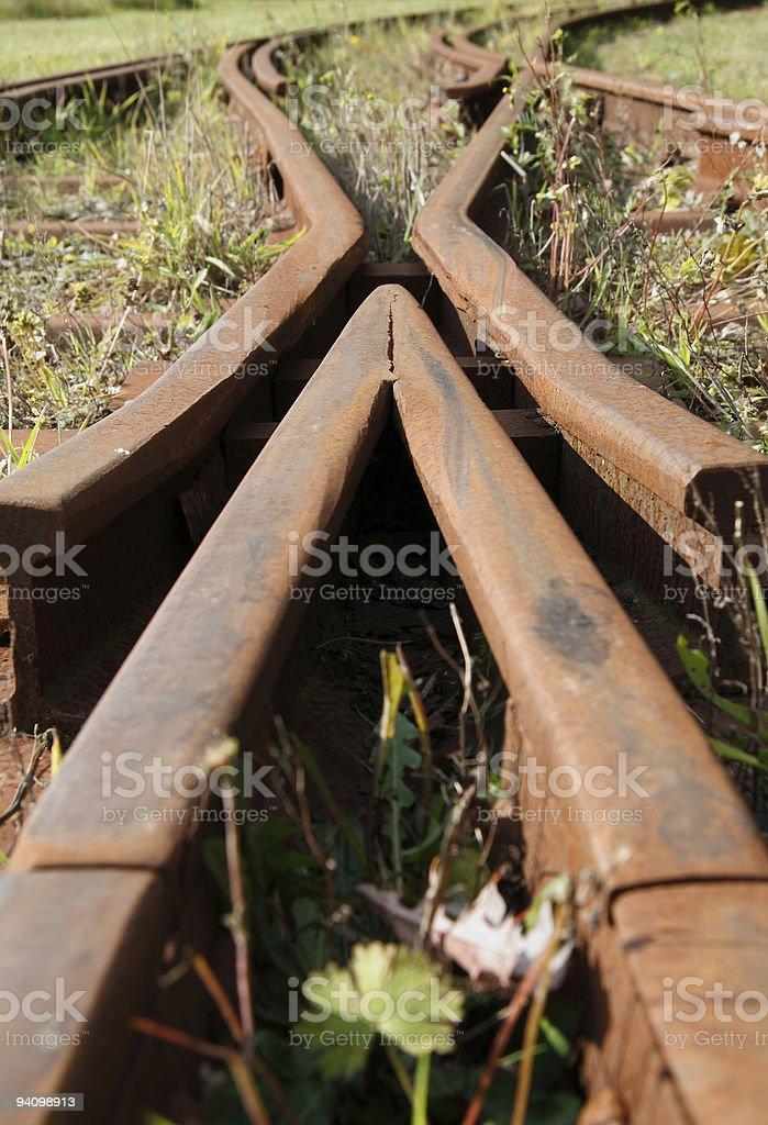Der Weg nach nirgendwo stock photo