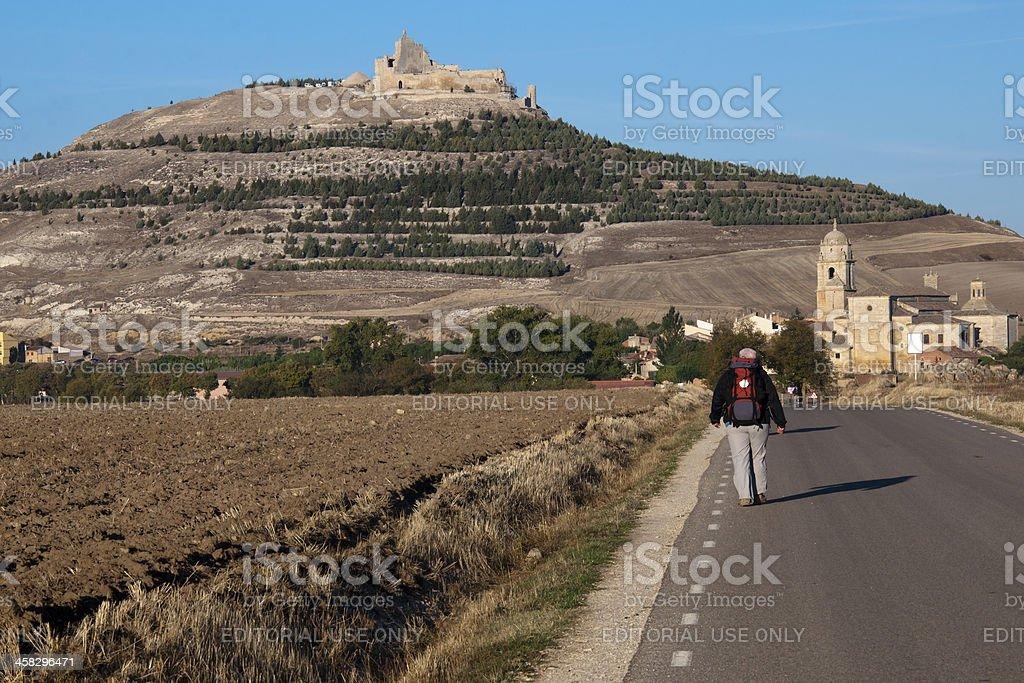 The way to Saint James royalty-free stock photo