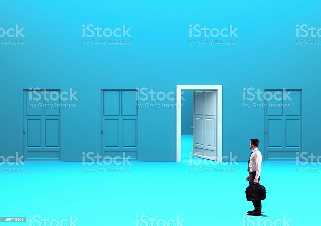 The way to success stock photo