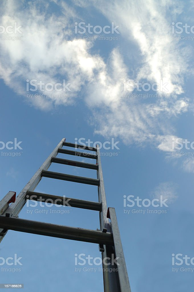 The Way Up royalty-free stock photo