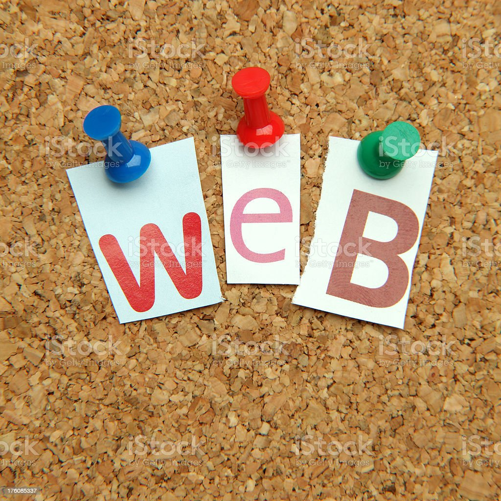 The web royalty-free stock photo