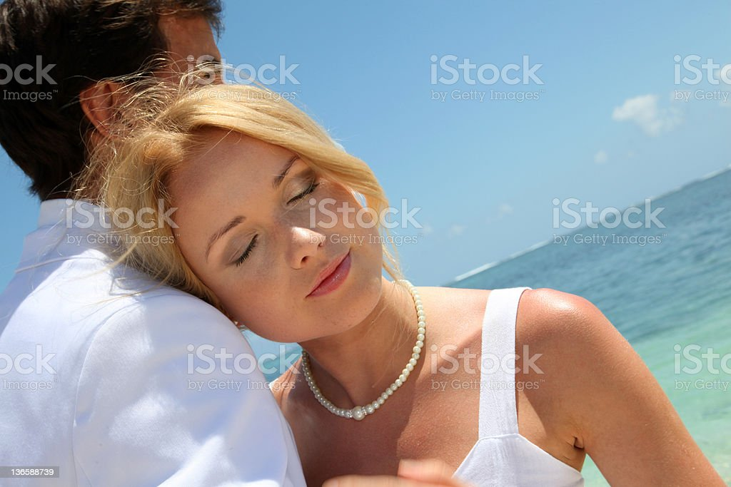 The wedding of my dreams royalty-free stock photo