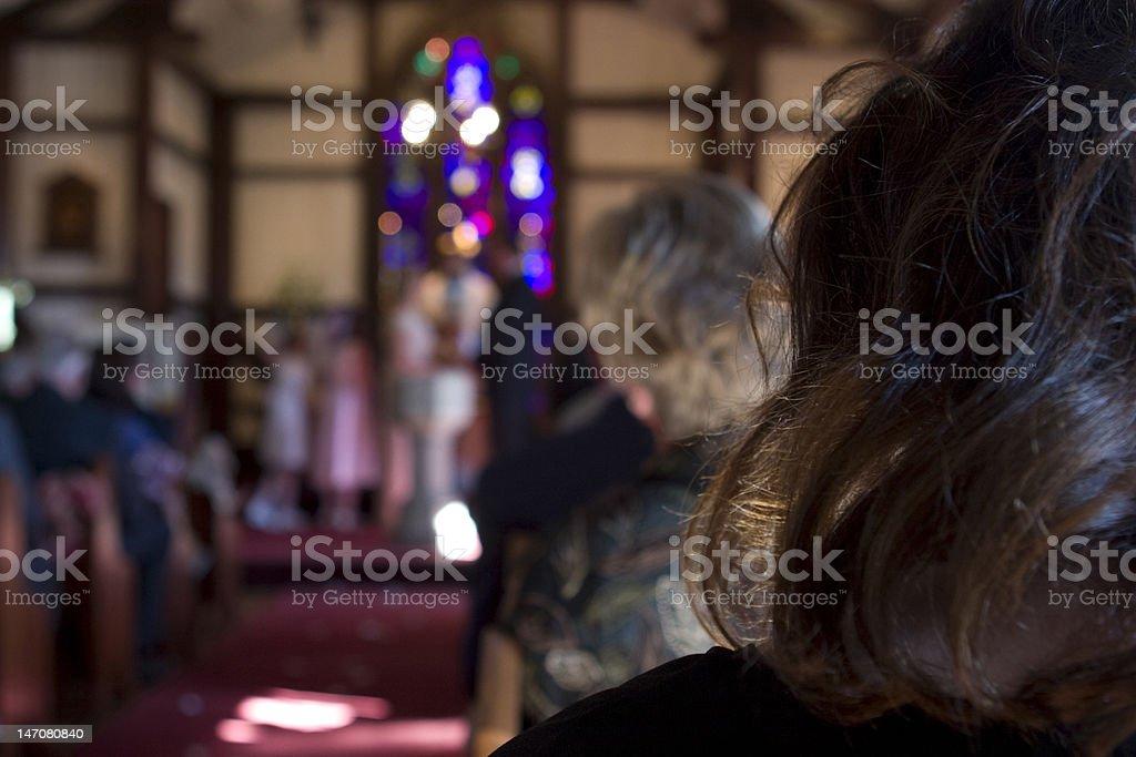 The Wedding stock photo