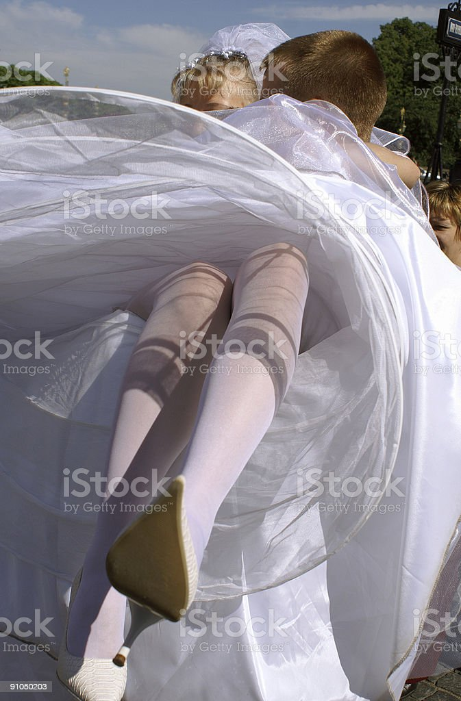 The wedding royalty-free stock photo