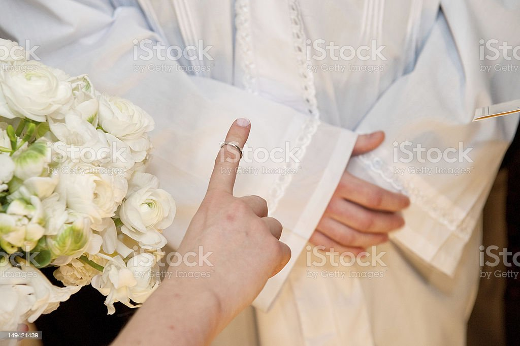 The Wedding Ring stock photo