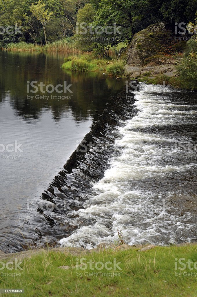The Weir stock photo