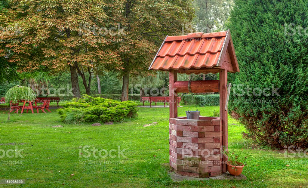 The Well royalty-free stock photo