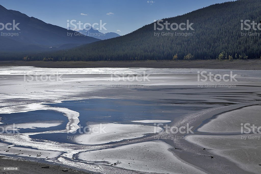 The well-known lake. royalty-free stock photo