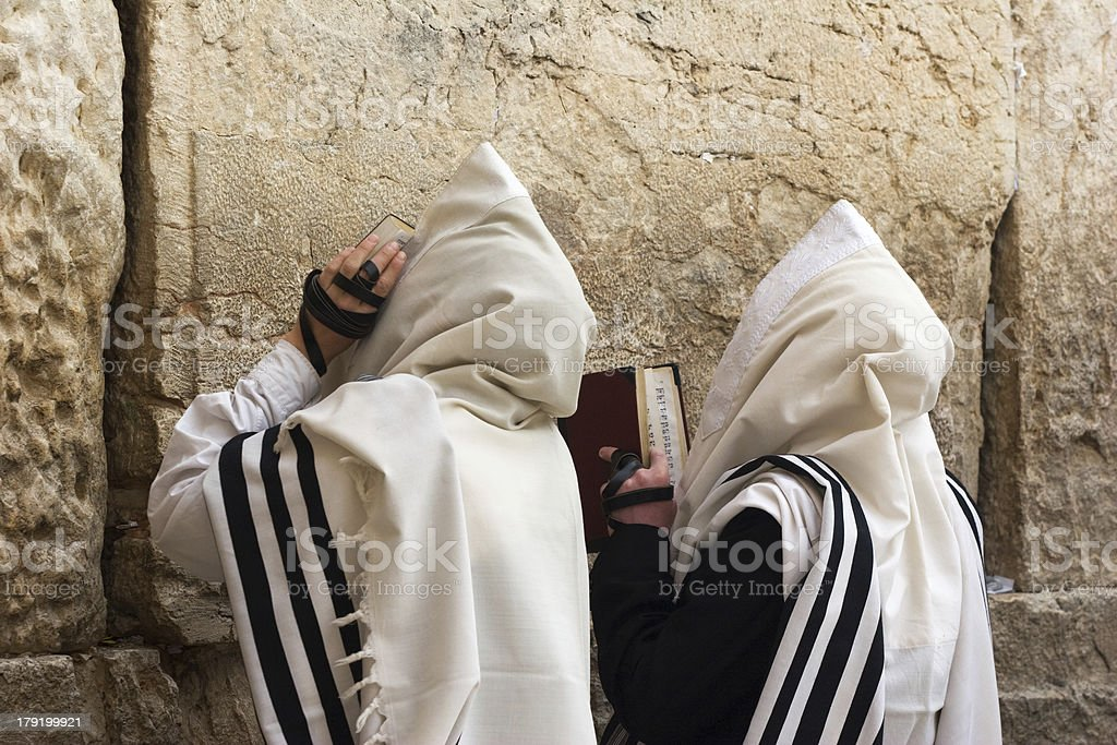 The Western Wall in Jerusalem. stock photo