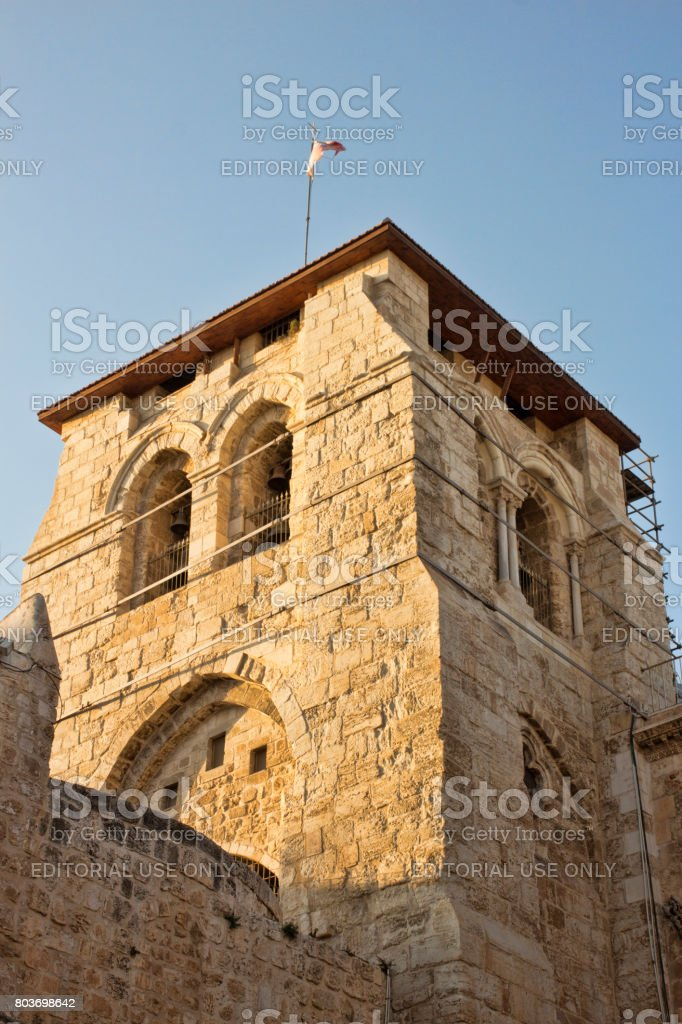 The Western Wall, Wailing Wall or Kotel, Jerusalem, Israel stock photo