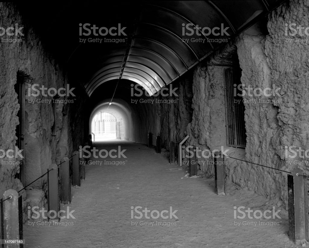 The Whaler's Tunnel royalty-free stock photo