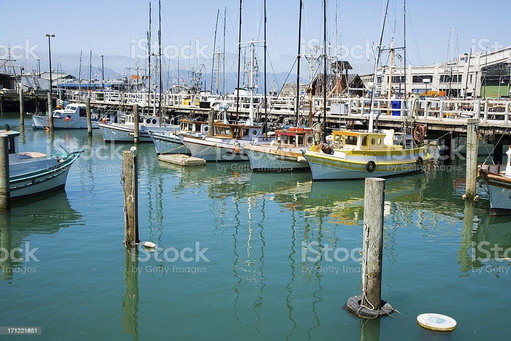 The Wharf stock photo