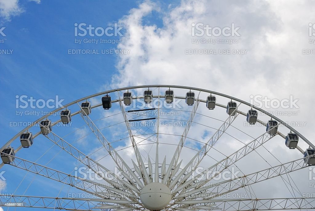 The Wheel of Liverpool royalty-free stock photo