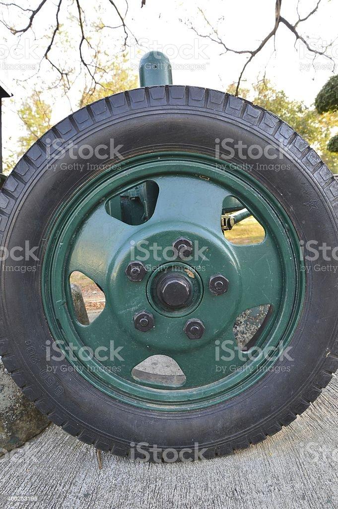 The wheel royalty-free stock photo