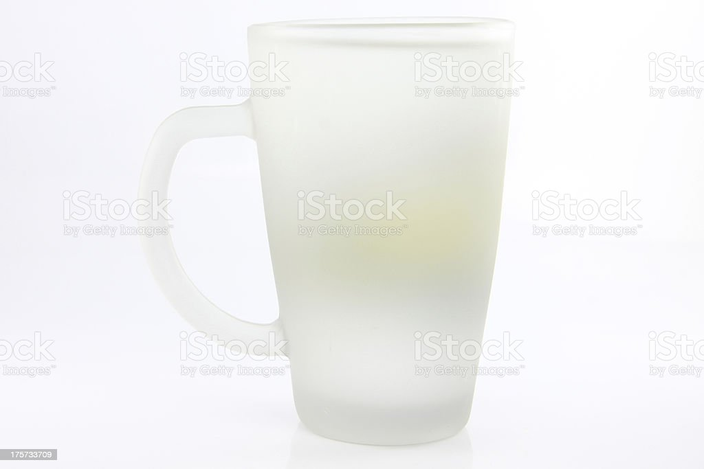 The white cup. royalty-free stock photo