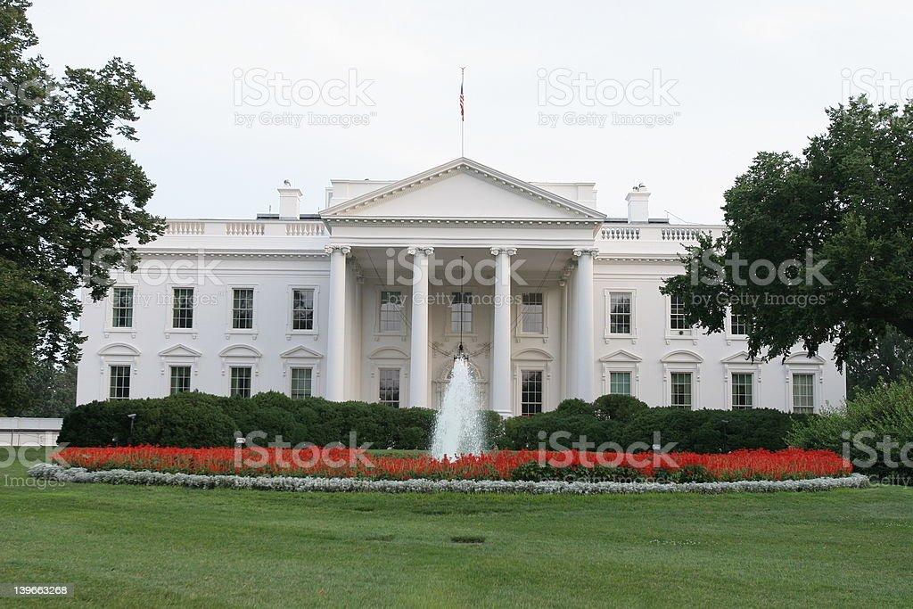 The White House in Washington, D.C. royalty-free stock photo