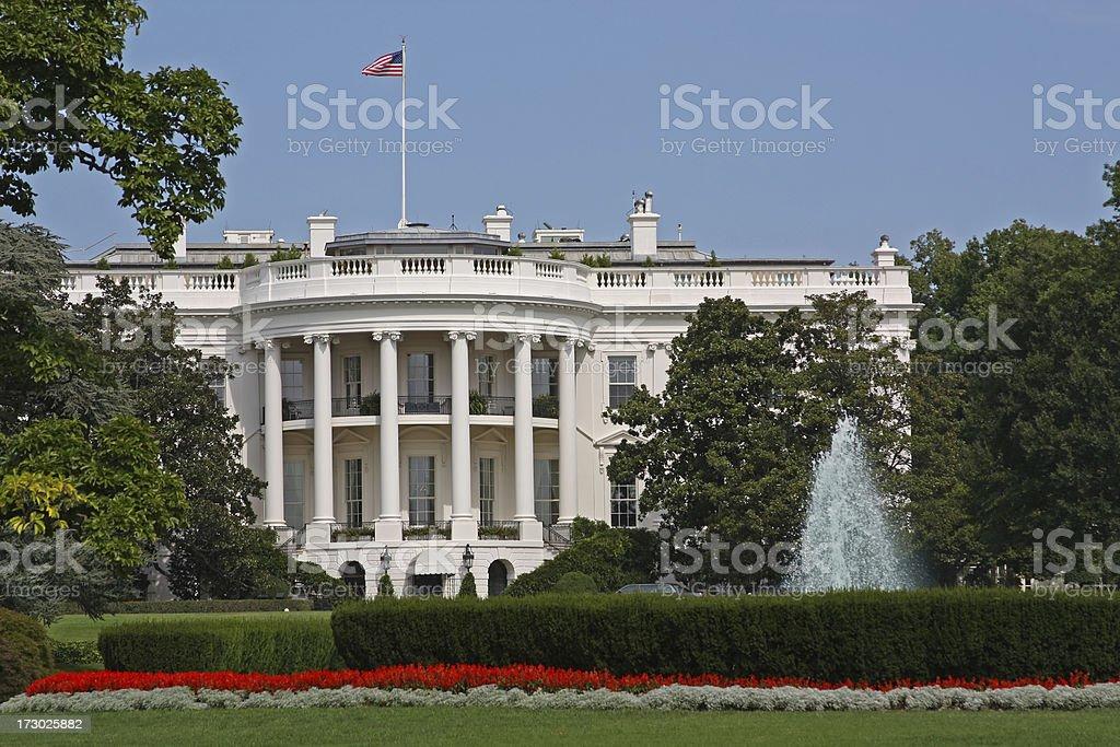 The White House in Washington DC (USA) stock photo