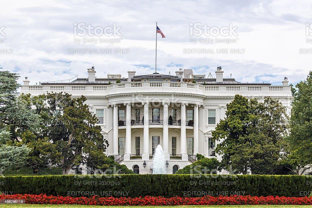 The White House in Washington, DC stock photo