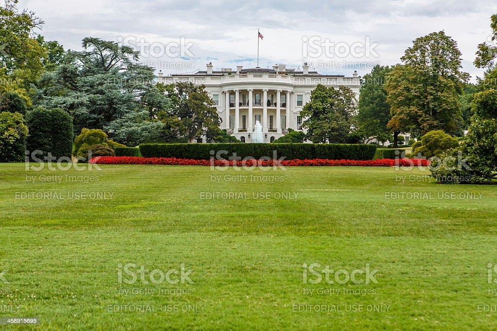 The White House in Washington, DC royalty-free stock photo
