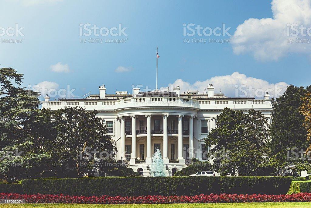 The White House in Washington DC, USA royalty-free stock photo