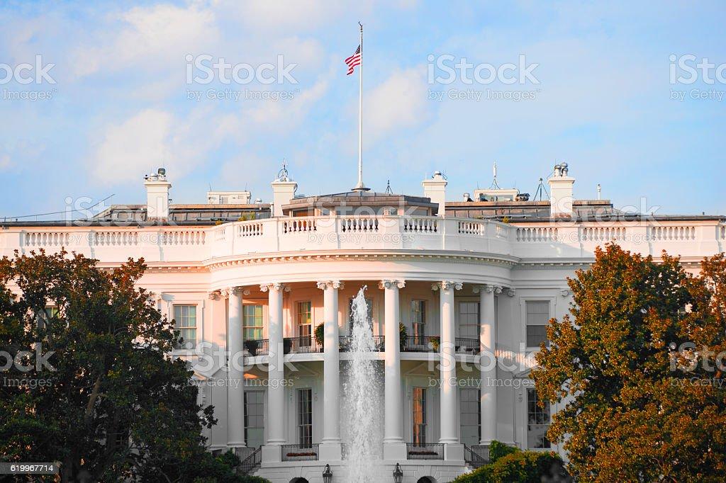 The White House in Washington D.C., USA stock photo