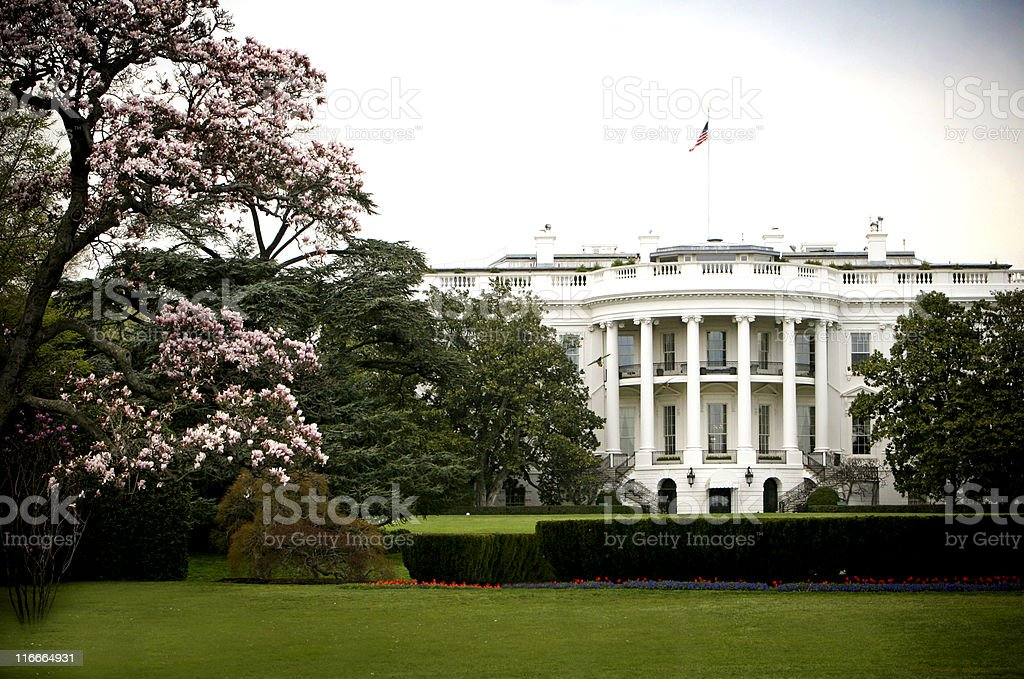 The White House stock photo