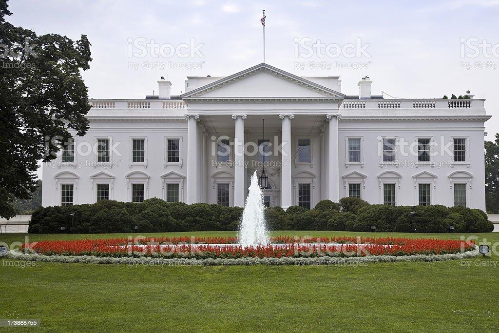 The White House (XXL) royalty-free stock photo