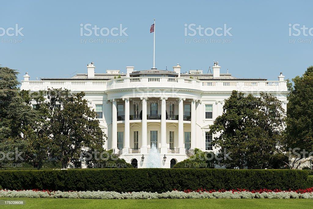 The White House Washington DC in the USA royalty-free stock photo