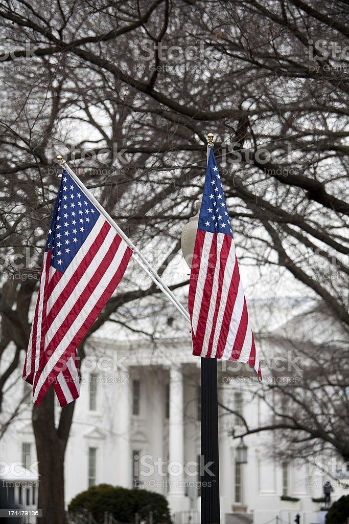 The White House, Washington DC royalty-free stock photo