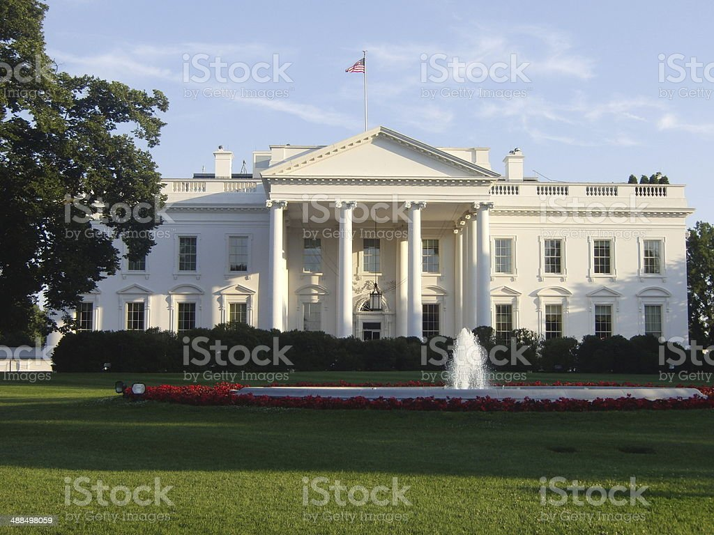The White House - Washington DC stock photo