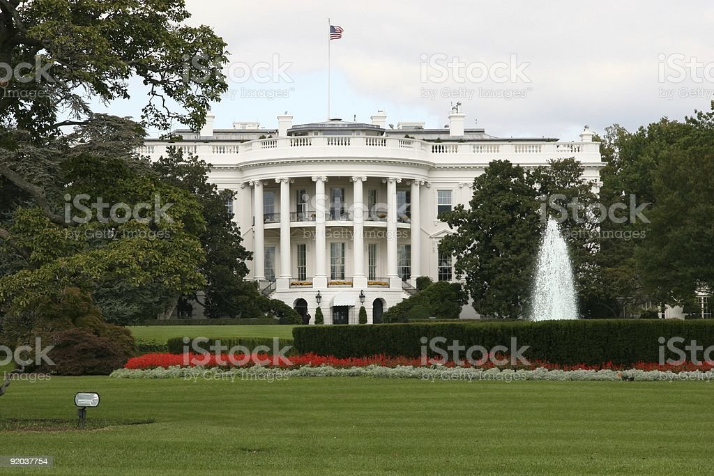 The White House Washington, D.C. royalty-free stock photo