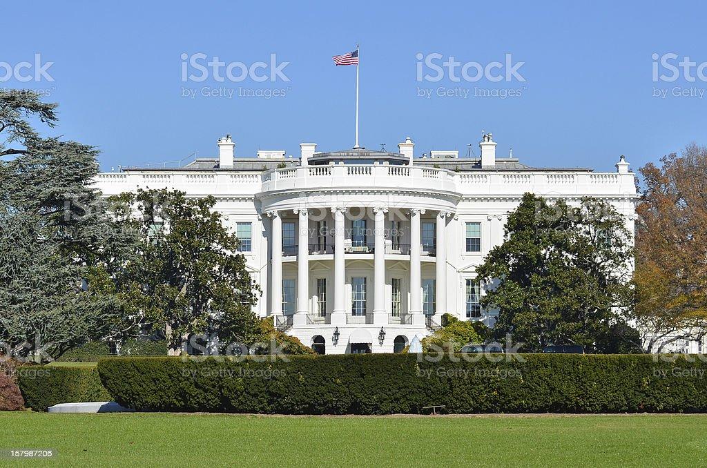 The White House - Washington DC, United States stock photo