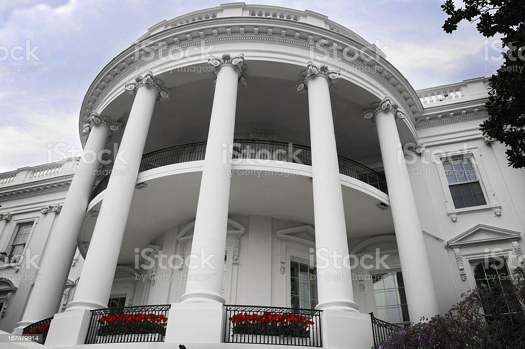 The White House, Washington DC, USA royalty-free stock photo