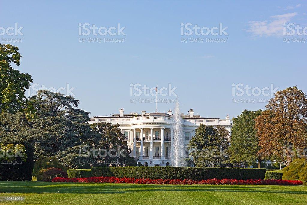 The White House, Washington DC, USA. stock photo