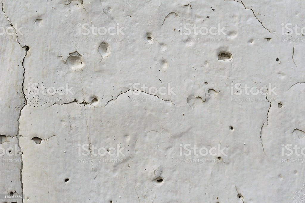 The white plastered wall royalty-free stock photo