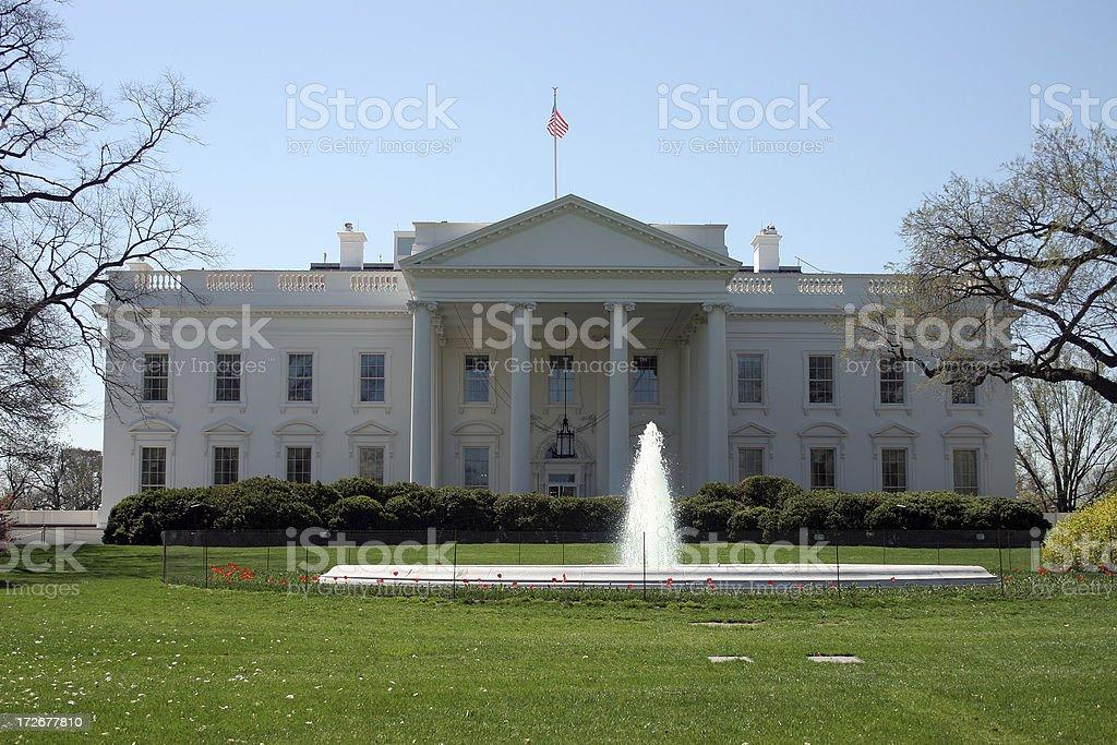 the whitehouse royalty-free stock photo
