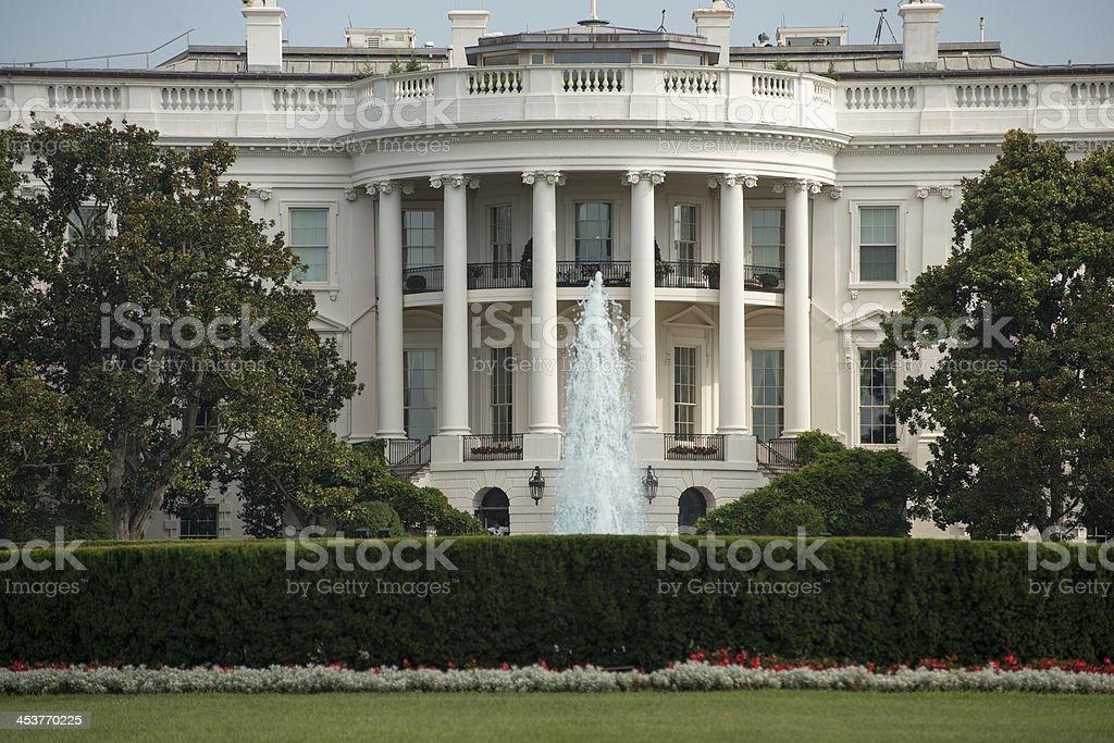 The Whitehouse Southlawn royalty-free stock photo