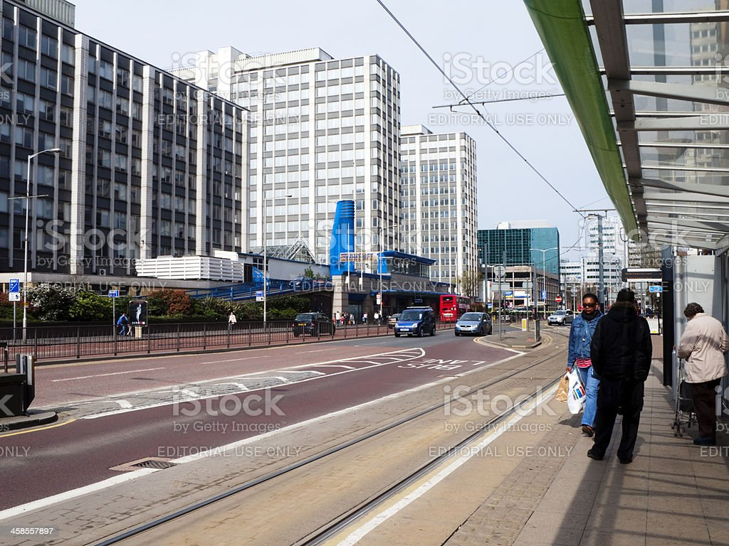 The Whitgift Centre in Wellesley Road, Croydon royalty-free stock photo